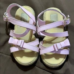 Janie and Jack Pink Sandals size 5